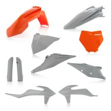 New Acerbis Plastic Kit KTM SX SXF 125 250 350 450 19 20 Orange Grey Motocross